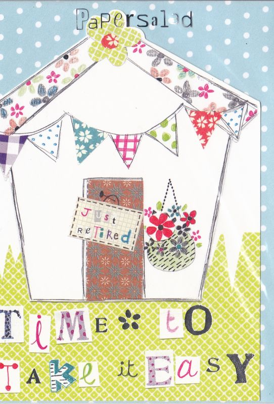 Shed & Bunting Retirement Card - product images  of