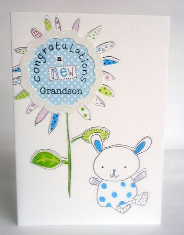 Congratulations,A,New,Grandson,-,Baby,Boy,Card,buy new baby grandson card online, cards for new babies, card for new baby grandchild, new grandchild card, new grandchildren card, new grandson card