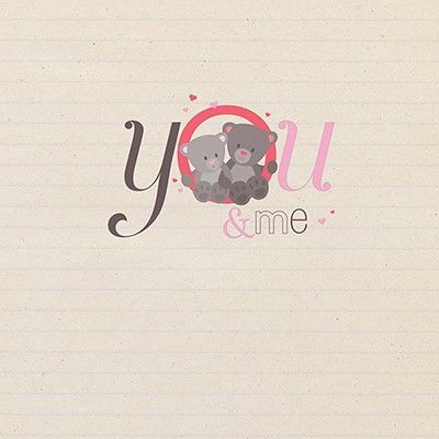 You And Me Bears Card - product images