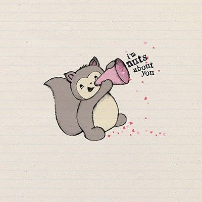 Squirrel,I'm,Nuts,About,You,Valentine's,Day,Card,buy valentines day card online, buy squirrel valentine card online, buy i am nuts about you valentine card online, buy cards for the one i love online, buy cards for valentine online,