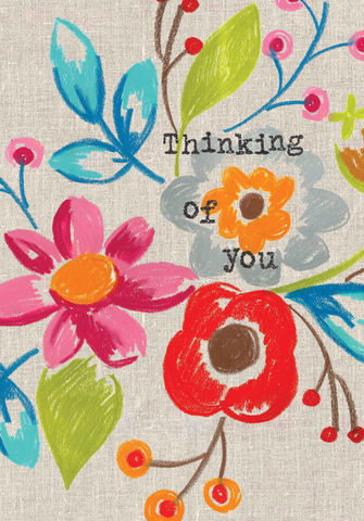 Floral,Thinking,Of,You,Card,buy thinking of you card online, buy cards for thinking of you online, buy deepest sympathy cards online, buy cards for warm wishes online, buy friendship cards online, floral thinking of you cards, thinking of you card with flowers