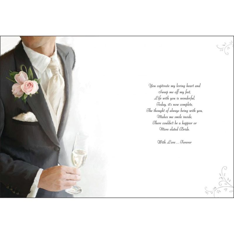 To My Fabulous Husband On Our Wedding Day Large Card Product Images