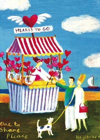 Hearts To Go Card - product images
