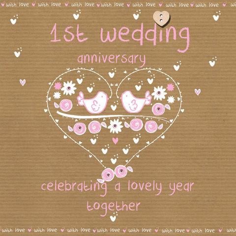 First,Wedding,Anniversary,Card,buy first wedding anniversary card online, buy cards for 1st wedding anniversary online, cards for wedding anniversaries, paper anniversary card, first weding anniversary card