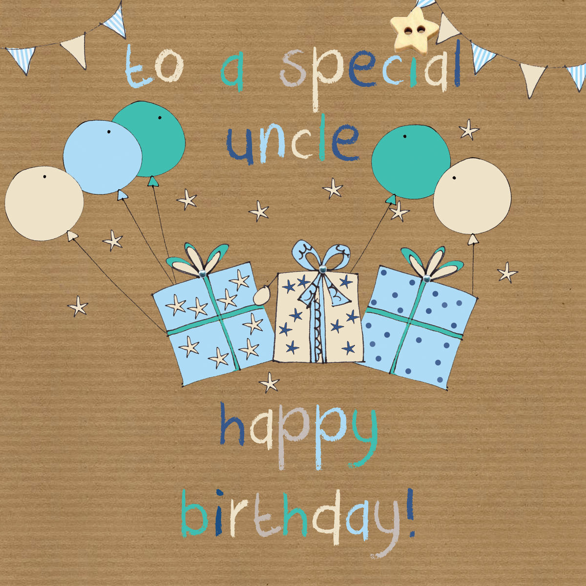 To A Special Uncle Birthday Card
