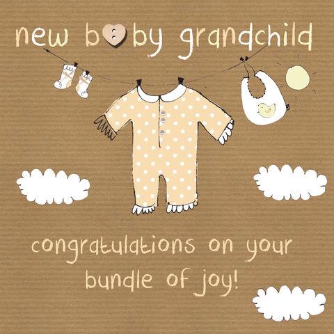 new baby boy grandson congratulations greeting card newborn