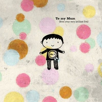 To My Mum From Your Son Card - Perfect for Mum On Mother's Day - product images