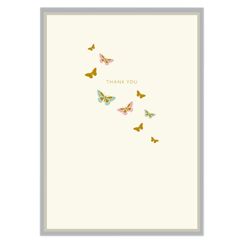Pack,of,10,Butterflies,Thank,You,Note,Cards,buy luxury stationery online, buy luxury note cards online, buy butterflies thank you cards online, buy thank you cards with butterfly online, butterfly thank you cards, cards for thank you, cards with butterflies, thank you cards with butterflies, butter