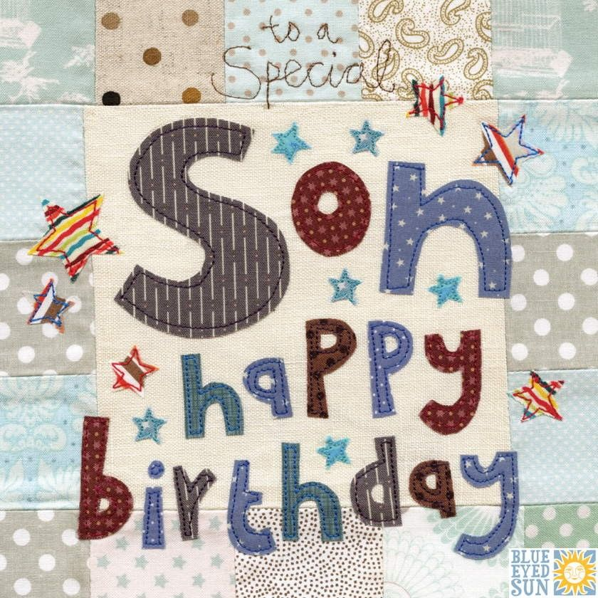 To A Special Son Birthday Card Large Luxury Birthday Card
