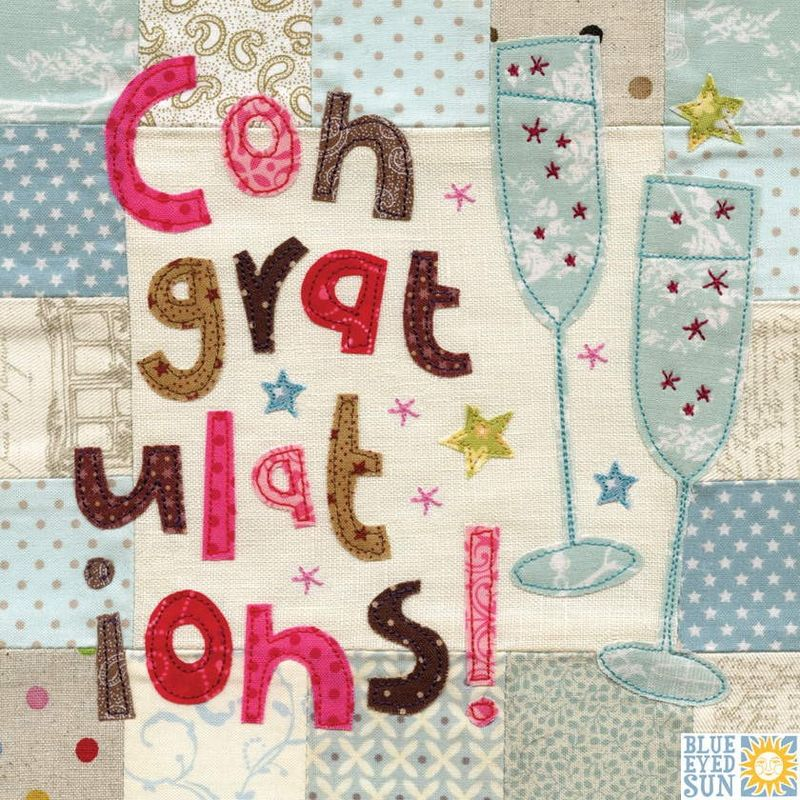 Congratulations Card - Large, luxury card - product images