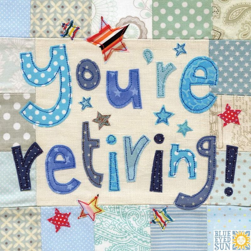You're Retiring Card - Large, luxury retirement card - product images