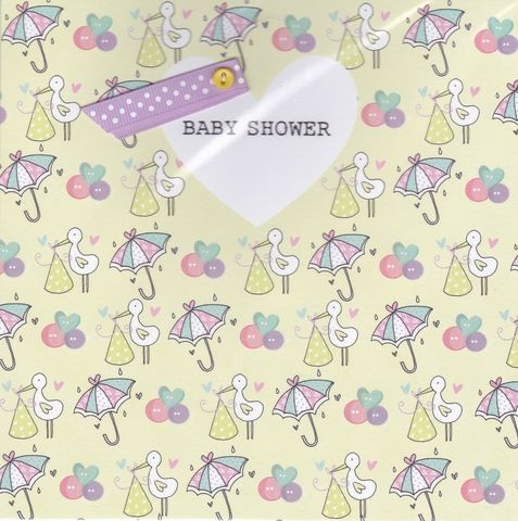 Storks,&,Umbrellas,Baby,Shower,Card,buy baby shower cards online, buy cards for baby shower online, buy mum to be baby shower cards online, mum to be cards, leaving to have a baby card, baby news card, cards for babys baby shower, parents to be card