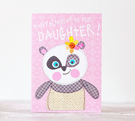 Panda,To,Our,Daughter,Birthday,Card,buy daughter birthday card online, buy birthday cards for daughters online, young daughter birthday cards, to our daughter birthday cards buy online, panda birthday cards, panda birthday cards for daughters,