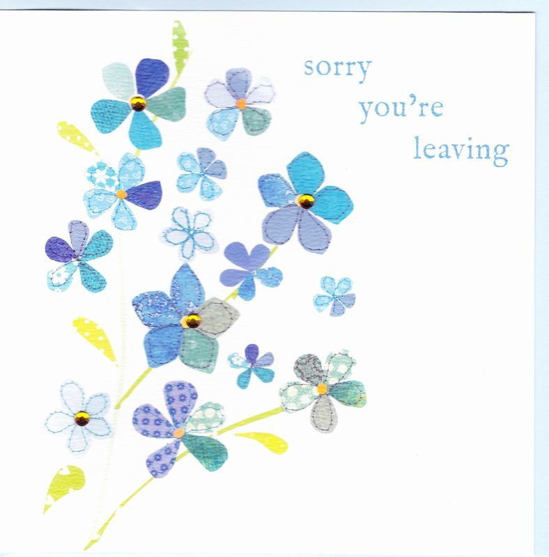 Forget Me Not Leaving Card - product images  of