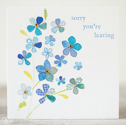 Forget,Me,Not,Leaving,Card,buy leaving cards online, buy female leaving cards online, buy floral leaving cards online, buy sorry you are leaving cards online for her, forget me not floral leaving cards