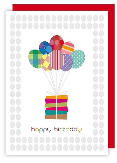 Birthday Balloons & Presents Birthday Card - product images