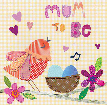 Bird & Nest Mum To Be Card - product images  of