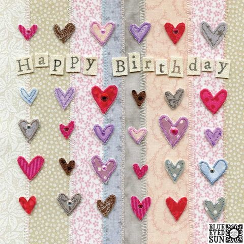 Hearts,Happy,Birthday,Card,buy hearts birthday card online, buy birthday cards with hearts online, buy birthday cards for her online, female birthday cards, girls birthday cards, floral birthday card, buy heart birthday card for her nline
