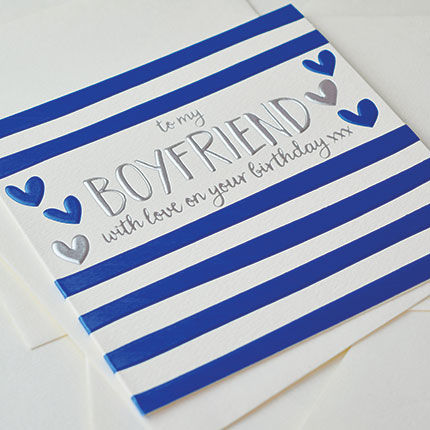 To My Boyfriend Birthday Card - product images  of