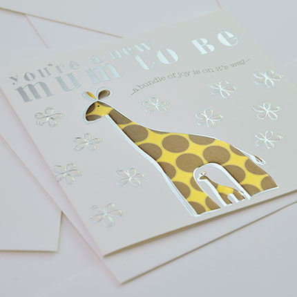 You're A New Mum To Be Giraffes Card - product images  of