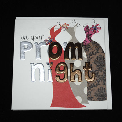 Hand Finished On Your Prom Night Card - product images  of