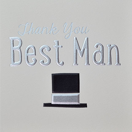 Best Man Thank You Card - product images  of