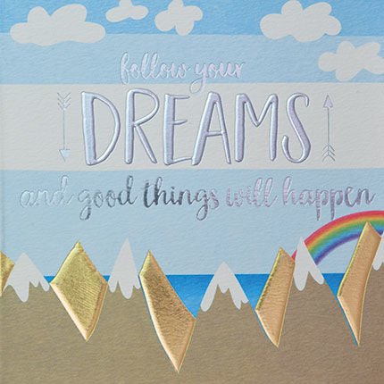 Follow Your Dreams Card - product images  of