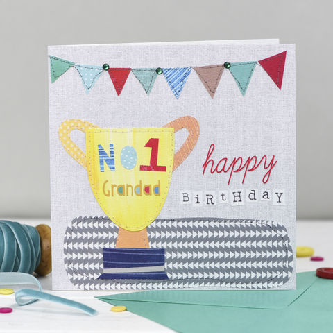 Number,One,Grandad,Happy,Birthday,Card,buy grandad birthday cards online, buy card for granddad online, buy birthday cards for grandads online, buy grandparent birthday cards online, buy cards for grandad, buy birthday cards for grandparents, granddads, grandfather cards