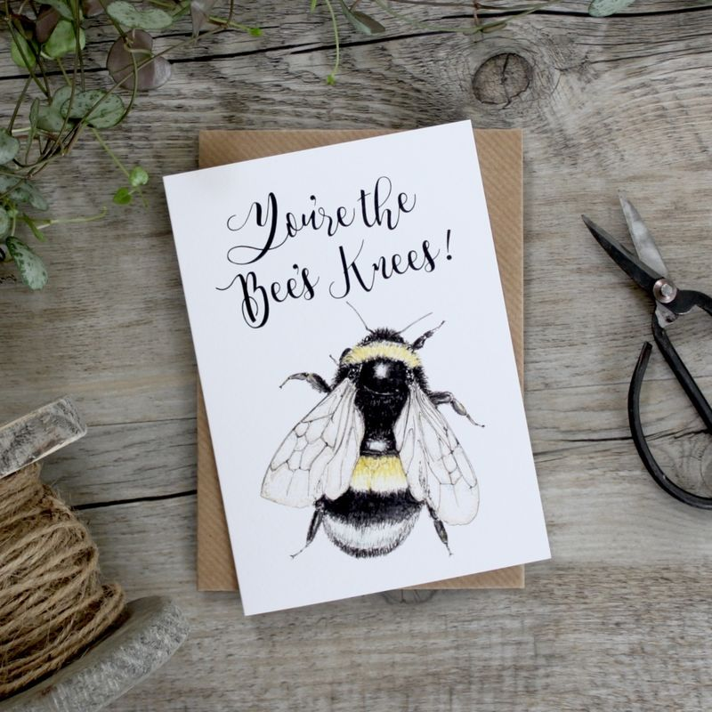 Bumblebee You Are The Bees Knees Card - product images