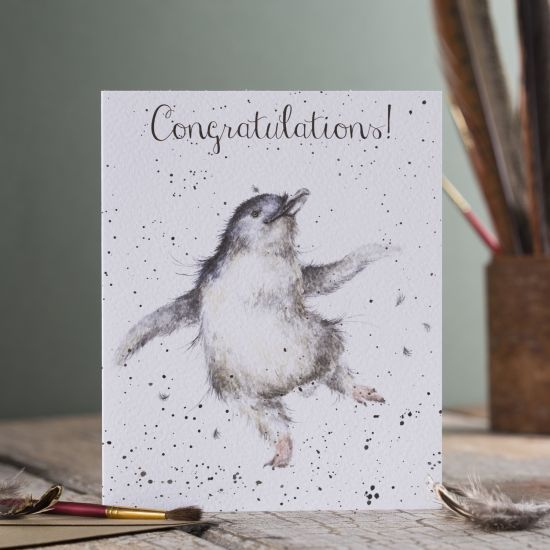 Penguin Congratulations Card - product images  of