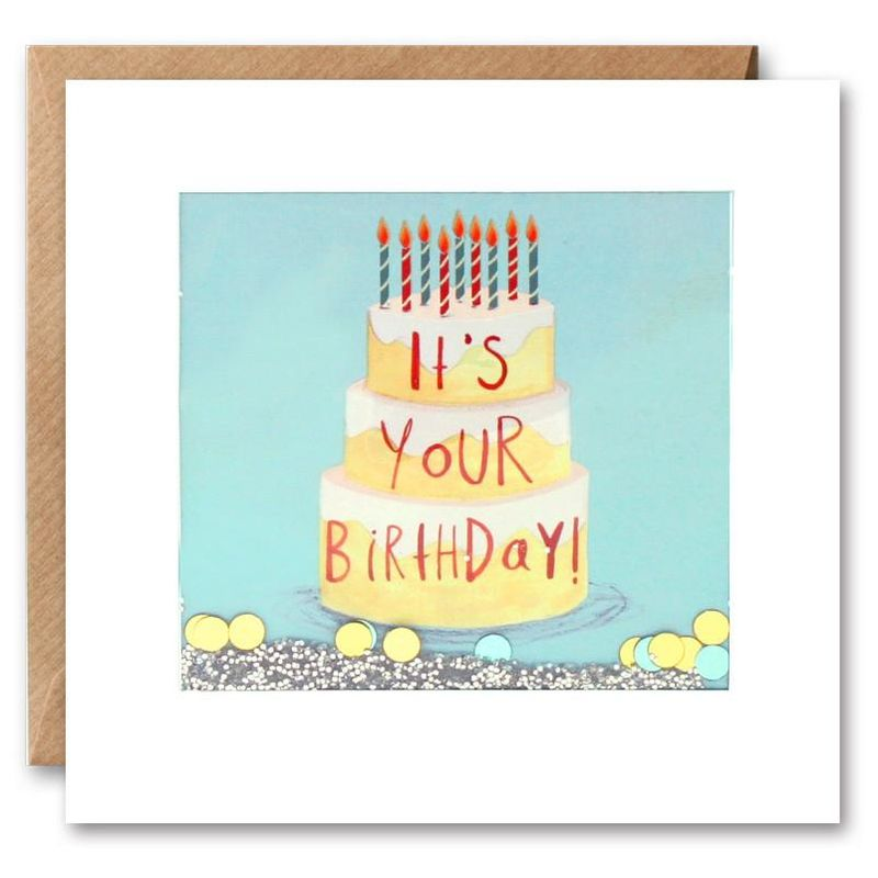Shakies Birthday Cake Birthday Card - product images