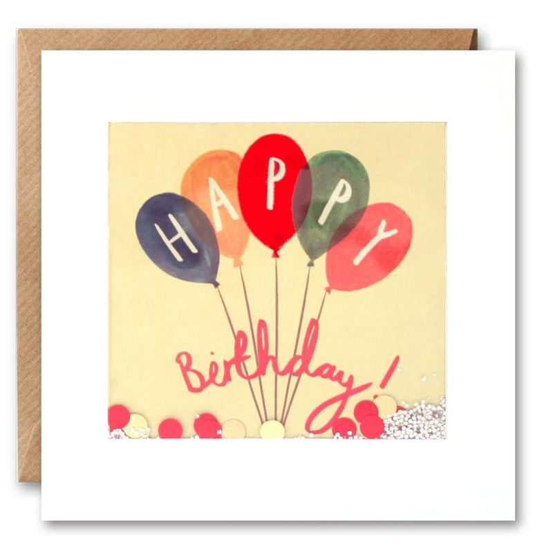 Shakies Birthday Balloons Birthday Card - product images