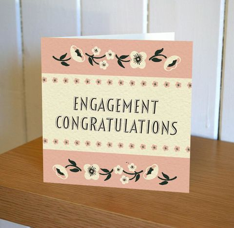Engagement,Card,-,Floribunda,Mini,buy engagement cards online, buy champagne engagement cards online, buy special couple engagement cards online, you are engaged cards, congratulations cards