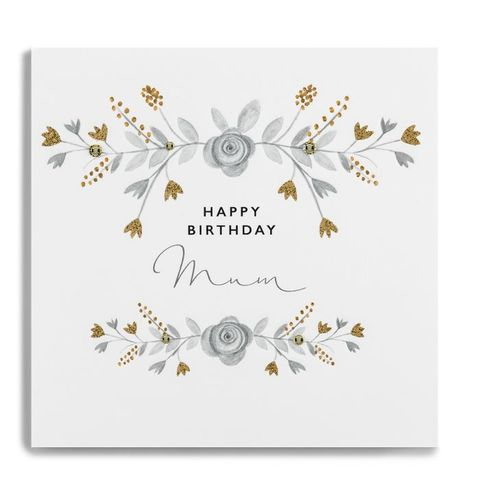Hand,Finished,Mum,Happy,Birthday,Card,buy mum birthday card online, buy floral birthday cards for mums online, buy birthday cards for mums with flowers online, beautiful mum birthday cars, luxury birthday cards for mum, handmade birthday cards for mums, parent birthday card