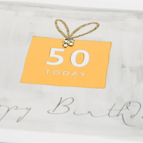 Hand,Finished,50,Today,Happy,Birthday,Card,buy gender neutral birthday cards for 50th online, buy 50th birthday cards for her online, buy age fifty birthday cards for him online, buy happy birthday luxury birthday cards online, fiftieth birthday cards, age fifty birthday card, age 50 birthday card
