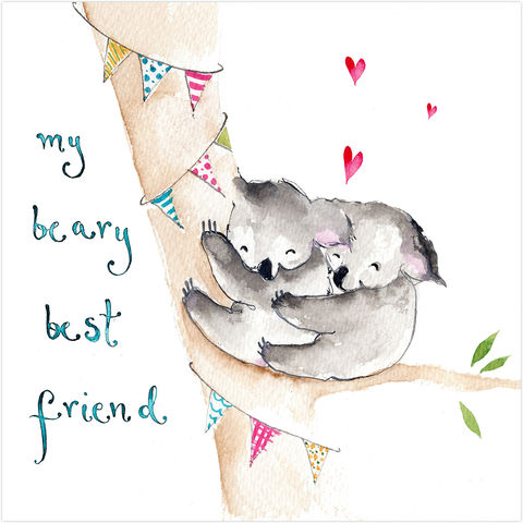 My,Beary,Best,Friend,Koala,Bears,Card,buy beary best friend card online, buy koala bear cards online, buy cards for best friends online, buy to the one i love card online, buy valentines day card online, buy mothers day card online, buy cards for warm wishes online, buy anniversary cards onli