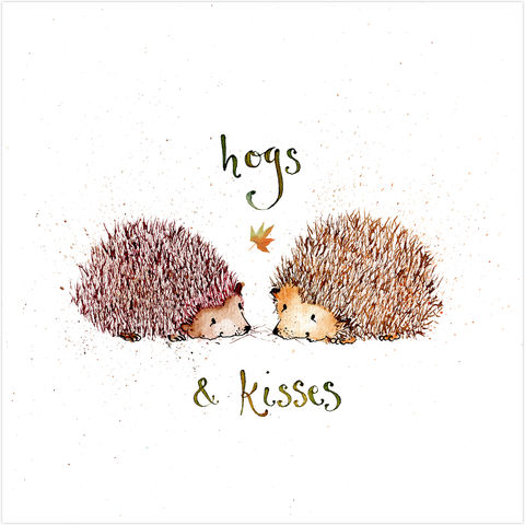 Hogs,&,Kisses,Hedgehogs,Card,buy hugs and kisses card online, buy hedgehog cards online, buy card with hedgehogs online, buy cards for best friends online, buy to the one i love card online, buy valentines day card online, buy mothers day card online, buy cards for warm wishes online
