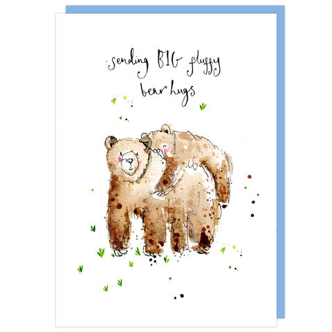 Sending,Big,Bear,Hugs,Card,buy  bear hugs card online, buy sending bear hugs cards online, buy card with bears online, buy cards for best friends online, buy to the one i love card online, buy valentines day card online, buy mothers day card online, buy cards for warm wishes online