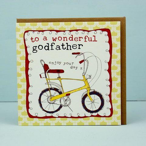 To A Wonderful Godfather Card