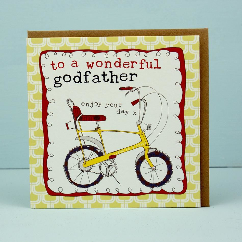 To A Wonderful Godfather Card