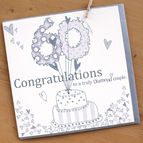Diamond,Couple,60th,Wedding,Anniversary,Card,buy diamond anniversary card online, buy 60th wedding anniversary card online, sixtieth anniversary card, diamond anniversary card, 60th anniversary cards, cards for sixtieth anniversary, cards for sixty anniversary