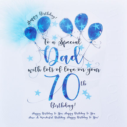 Handmade,Dad,70th,Birthday,Card,-,Large,,Luxury,buy dad 70th birthday card online, buy 70th birthday cards for dads online, age seventy cards for dads, seventieth birthday card, large 70th birthday card for dad, luxury age 70 card for dad, dads 70th card, age 70 card, birthday card for seventy