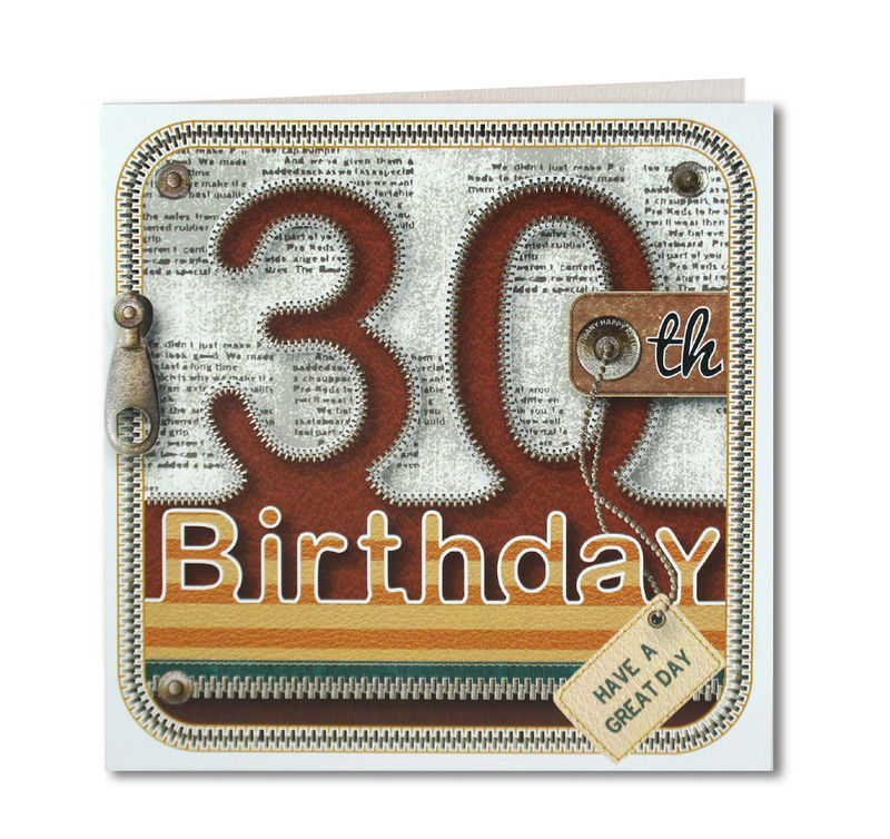 Male 30th Birthday Card - product images  of