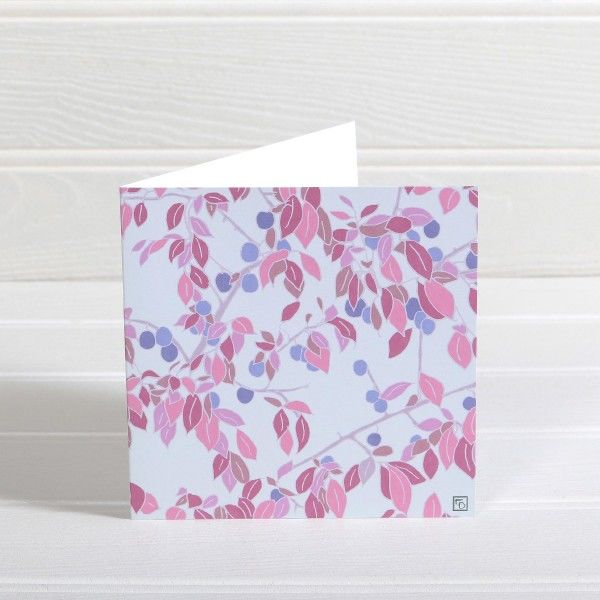Damsons Greetings Card - Emily Burningham Blank Card - product images  of