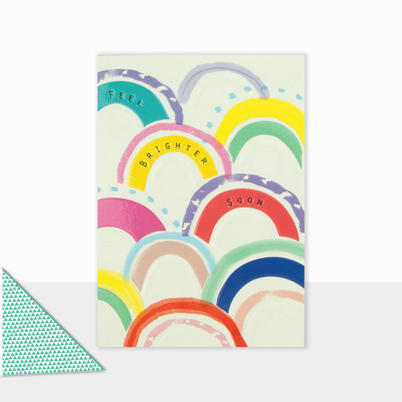 Feel Brighter Soon Card - Get Well Card - product images  of