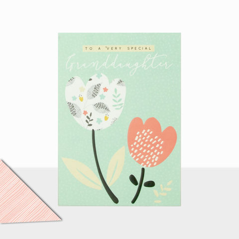 To,A,Very,Special,Granddaughter,Birthday,Card,buy birthday cards for granddaughter online, buy birthday cards for granddaughters online, buy pretty birthday card for grand-daughter online, granddaughter cards with flowers, birthday cards for grandchildren, grandchild birthday card