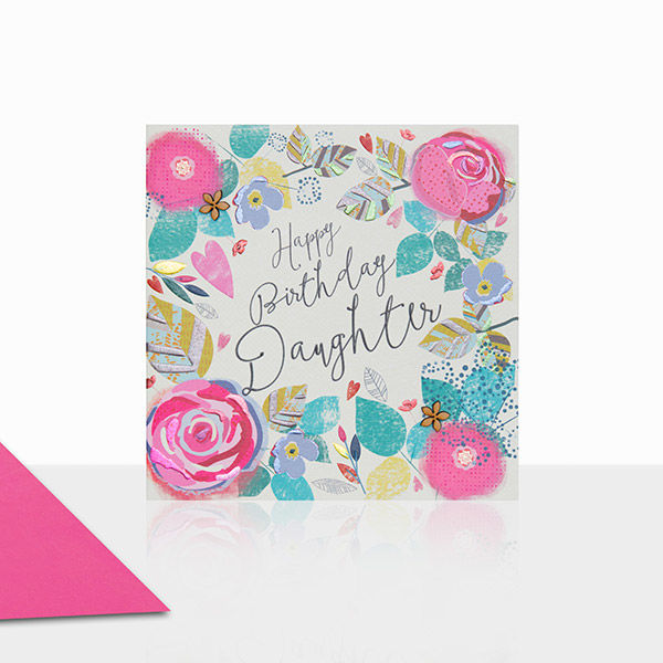Beautiful Daughter Happy Birthday Card - product images  of