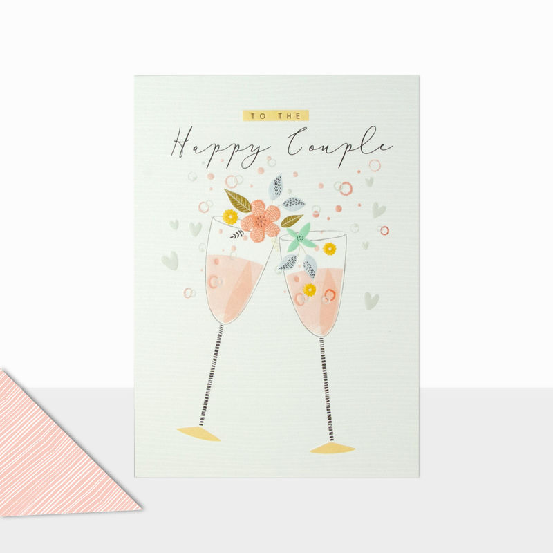 To The Happy Couple Wedding Day Card - product images  of