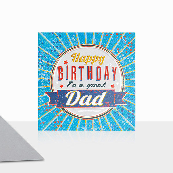 To A Great Dad Happy Birthday Card - product images