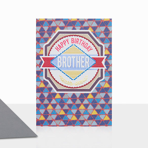 Brother Happy Birthday Card - product images  of